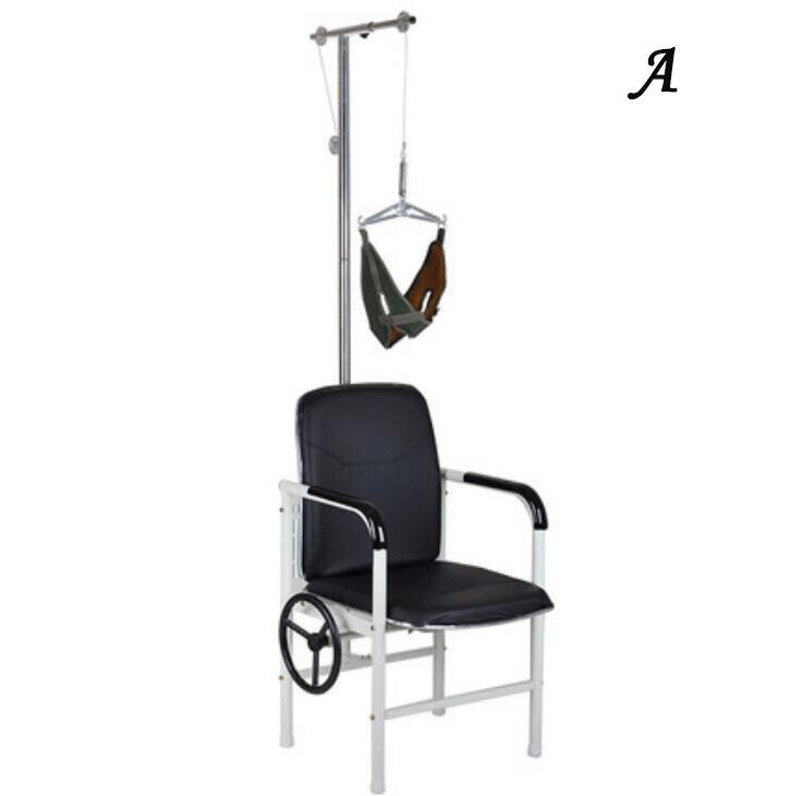 HANRIVER 2021 المنزل جرار الجر كرسي العلاج فقرة عنق الرحم إطار تصحيحي معلق الرقبة تمتد طوق الرقبة