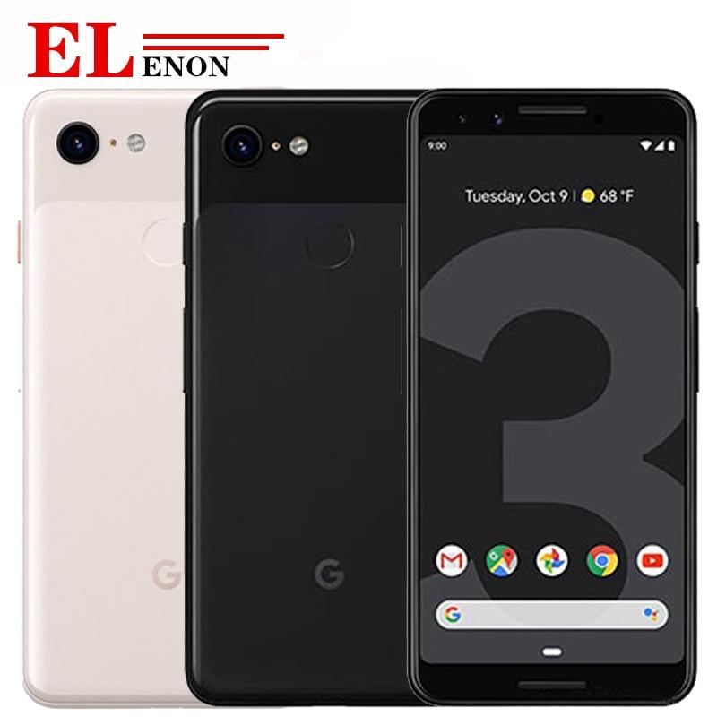 Новый оригинальный Google Pixel 3 Мобильный телефон 5 &quotSnapdragon 845 Восьмиядерный 4 Гб ОЗУ