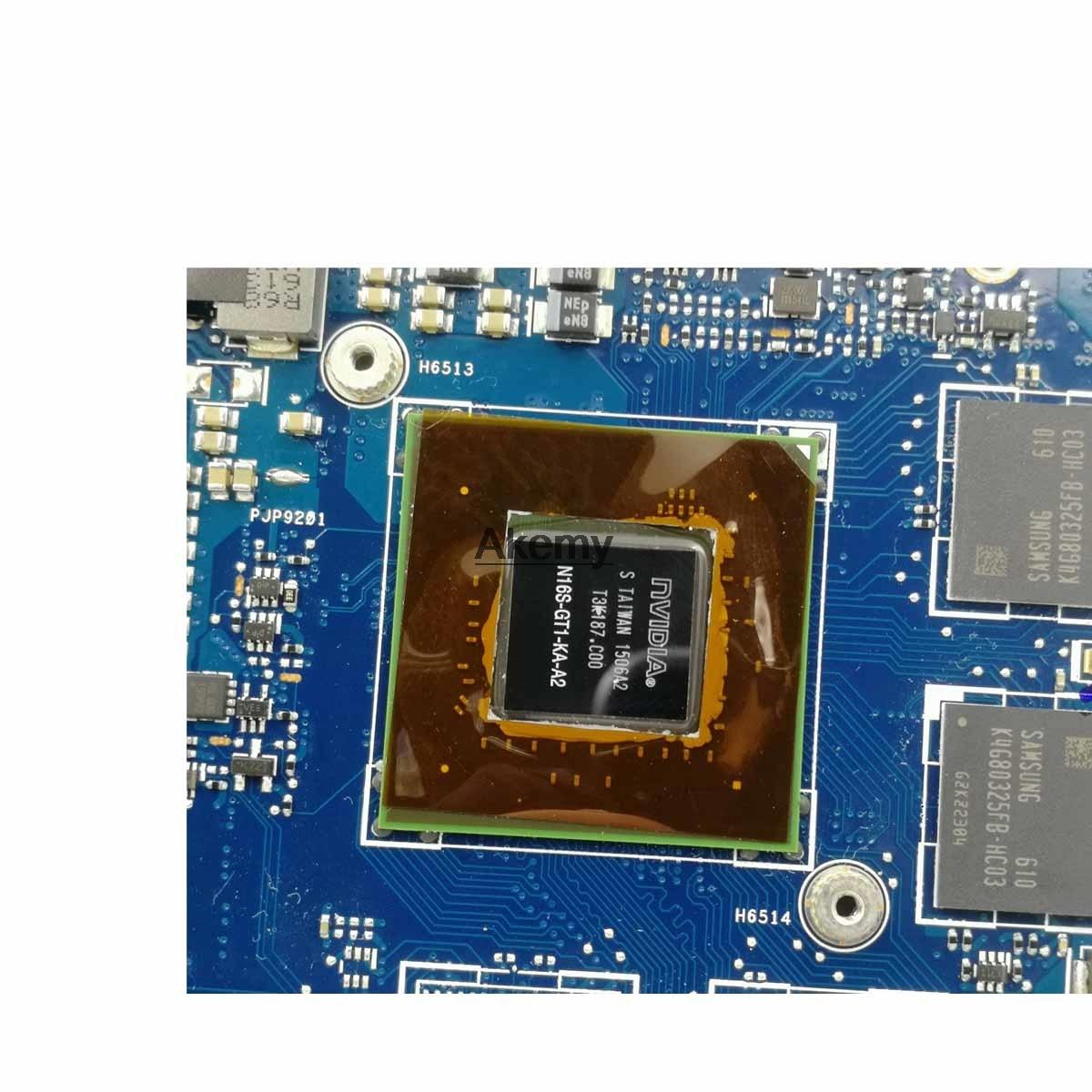 Laptop Motherboard For Asus Q534U Q534UX Q534UQ Q534UQK Mainboard with GTX940M/2GB Video card I7-6500U  8GB RAM
