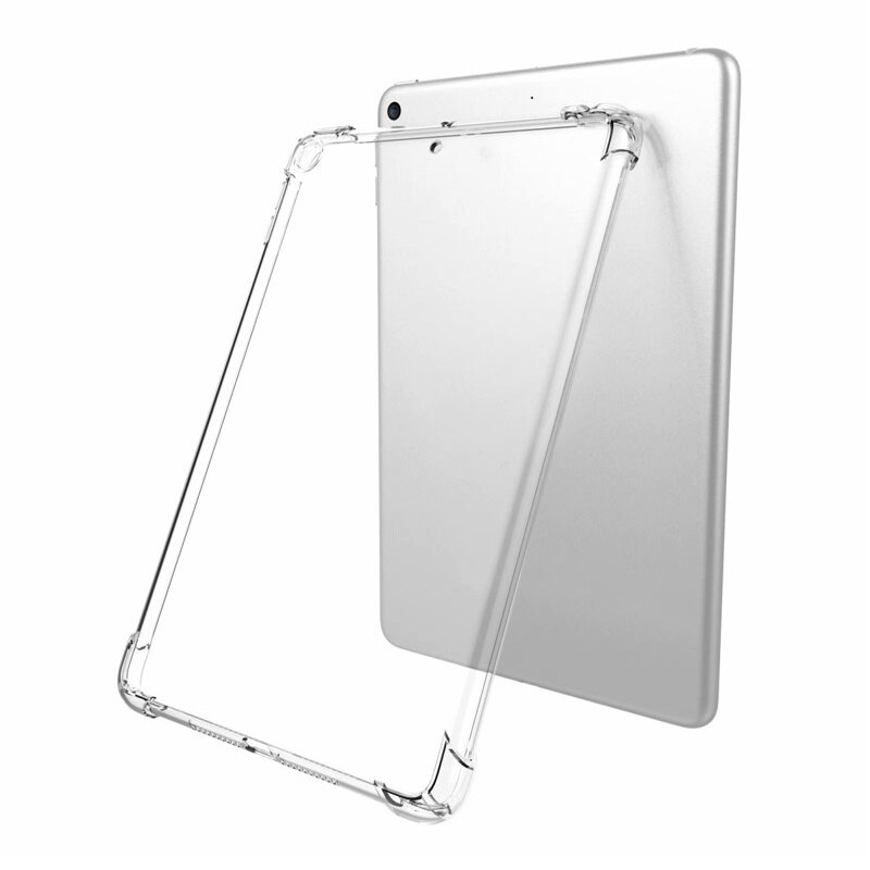 High quality For IPad Pro 11 New Hot Sale Silicon Case Clear Transparent Case Soft TPU Bumper Cover