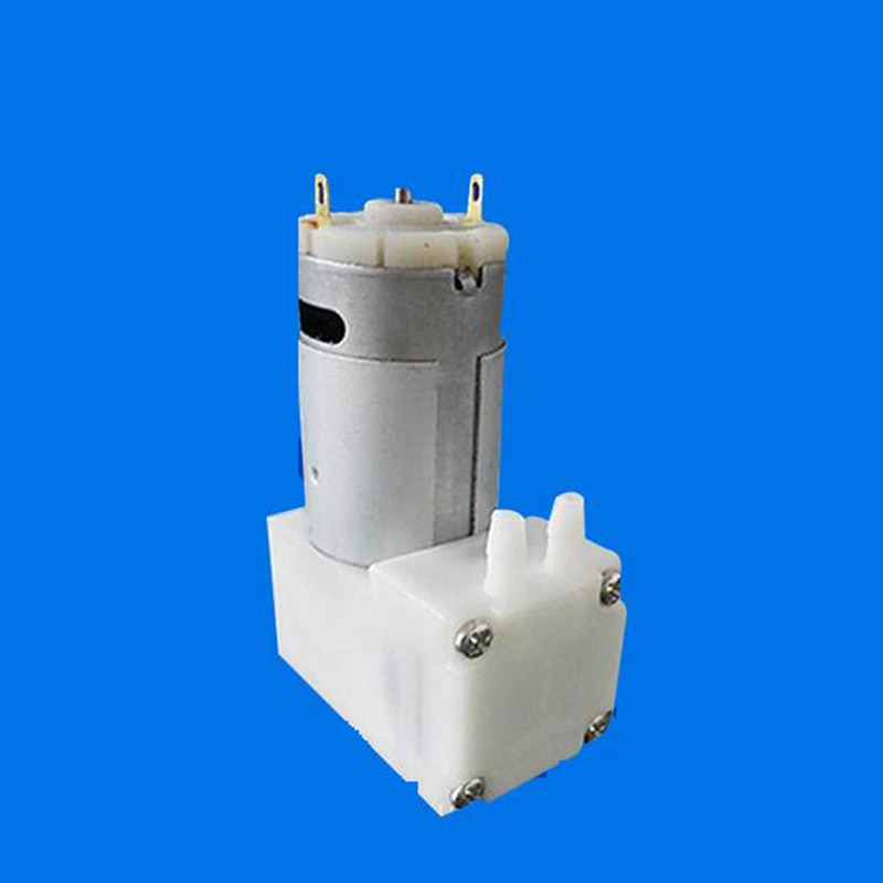Nova dc 12v 4l/min 8w micro bomba de ar bombas elétricas mini bomba de vácuo bombeamento booster para o instrumento de tratamento médico #04