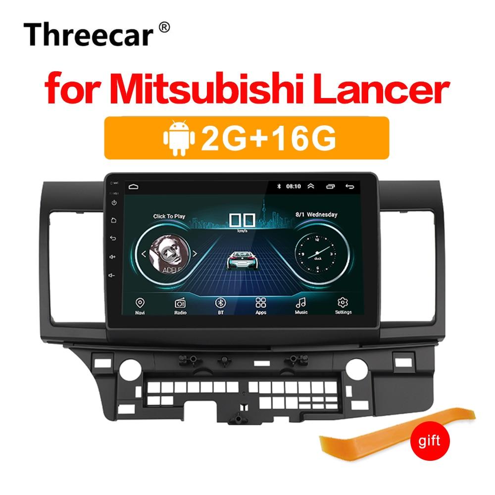 Android 8,1 GPS, reproductor para coche Radio GPS para Mitsubishi Lancer 10 Galant con 2G + 16G Quad Core SIN DVD Radio Multimedia ESTÉREO