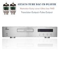 Remote Hifi Tube CD Disc Player Decorder Optical Coaxial core PCM1795 SNR
