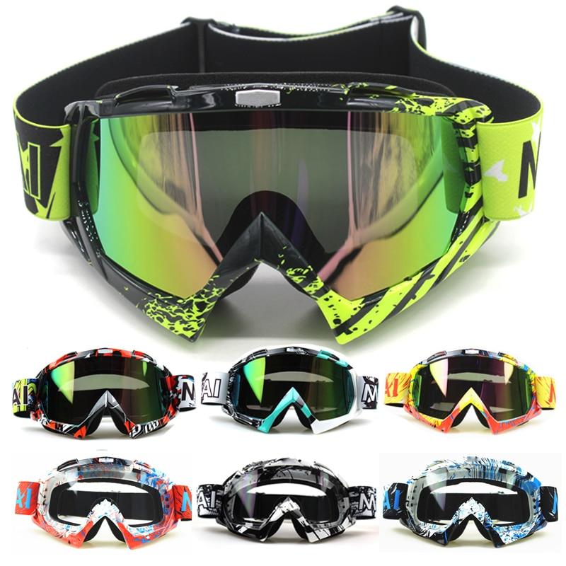 Gafas Nordson para motocicleta al aire libre, gafas para ciclismo MX todoterreno, deporte de esquí ATV, gafas para carreras de motos de Cross para Fox, gafas de Motocross, Google