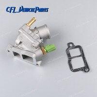 Engine Coolant Thermostat 31293698 For Volvo C70 S60 S80 V70 XC70 XC90 2.3L 2.4L 2.5L L5