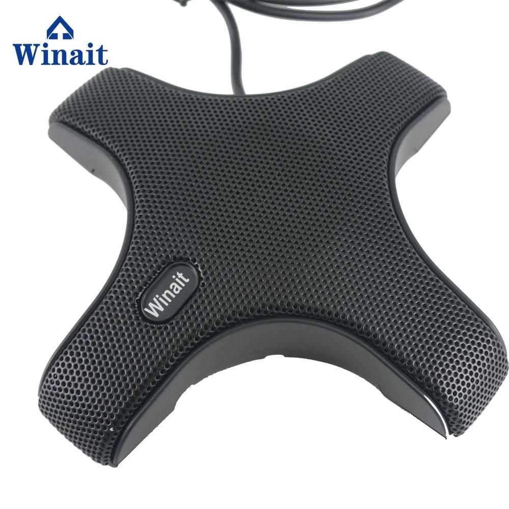 Winait мини Домашнее использование видео конференц-микрофон 360 градусов всенаправленный микрофон
