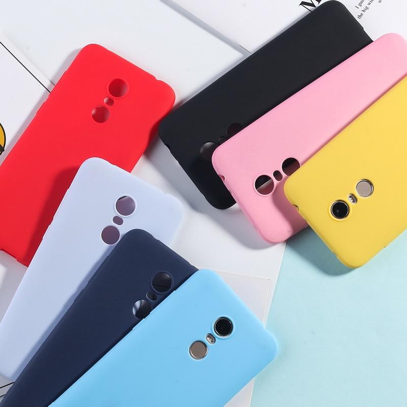 Candy Color Case For Xiaomi Redmi Note 4X TPU Case For Redmi Note 7 6 5 Pro 5A Redmi 4A 4X 5 5A 6A 7 6 Pro 5 Plus Silicone Cover