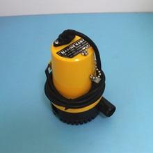 Pompe à eau jaune 12V pour bateau marin   Submersible