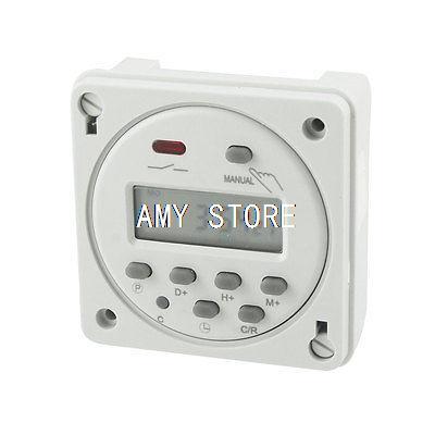 Cn101A LED Weekly Digital Electronic Timer AC 24V 16Amp