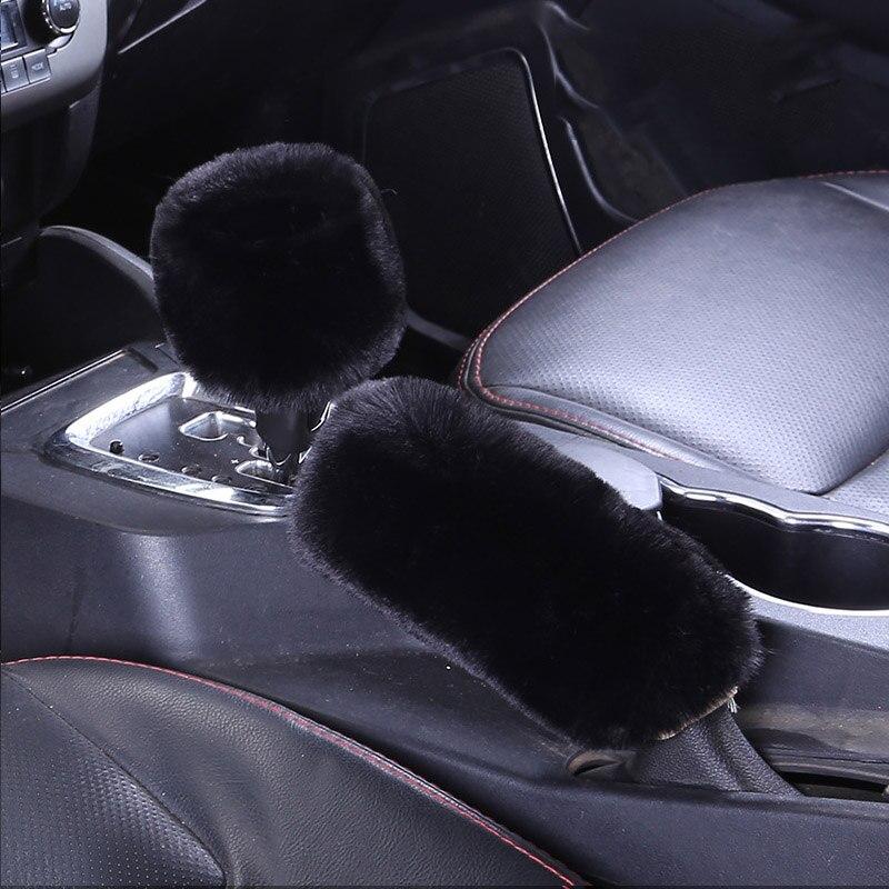 Estilo de coche perilla de cambio de marchas collares funda para Ford ranger Ford Mondeo Kuga Fiat 500 Abarth Nissan Ashqai J11 J10 Juke Jeep