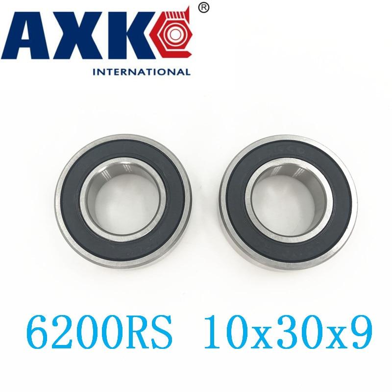 6200rs подшипник Abec-3 (8 шт.) 10x30x9 мм Глубокий паз 6200-2rs шарикоподшипники 6200rz 180200 Rz Rs 6200 2rs Emq качество