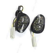 Soporte empotrado de LED señales de giro luz YZF R6 R1 2008, 2007, 2006, 2005, 2004 para Yamaha
