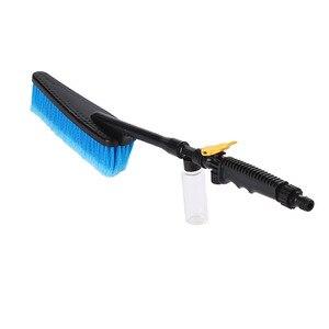 Image 3 - Щетка для мытья автомобиля, выдвижная щетка с длинной ручкой, переключатель потока воды, для чистки бутылок из пенопласта