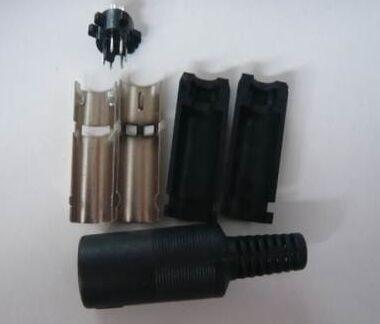 Conector MIDI de conexión DIN, enchufe DIN, 6 pines, macho, en línea, enchufe de DIN-6P, conector Audio AV