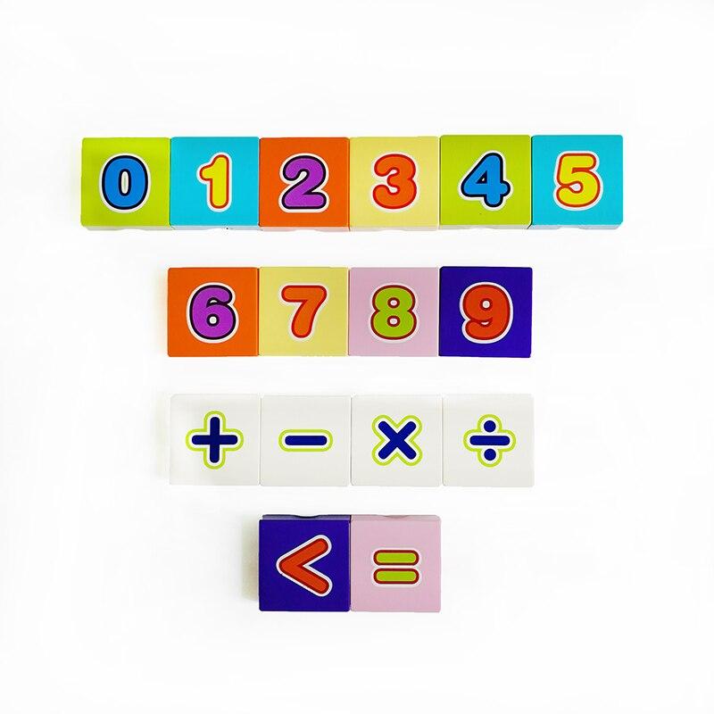 16 Uds. Juguetes de aprendizaje de números 2x2 ladrillos impresos con números 10 bloques de aprendizaje compatibles con bloques de construcción Duplo