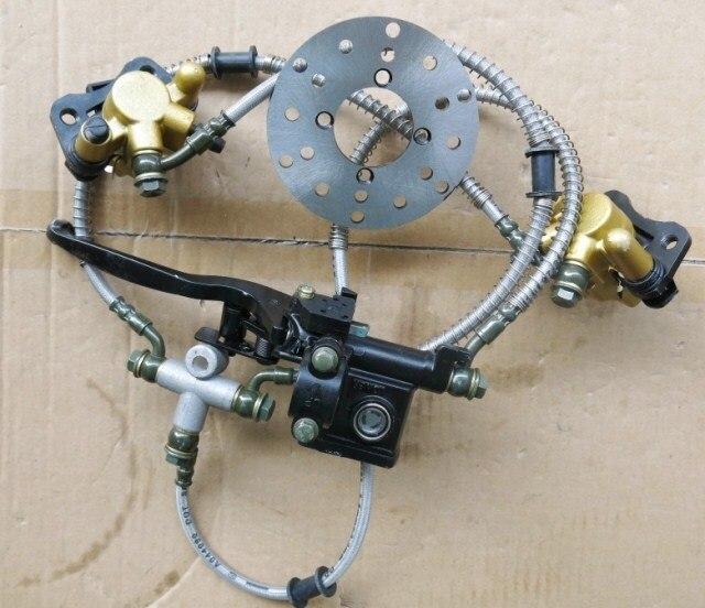 STARPAD para vehículos eléctricos hidráulicos de motocicletas, 50 para ATV, freno de mano, arrastre de dos pares de frenos de disco, bomba de frenos, venta al por mayor