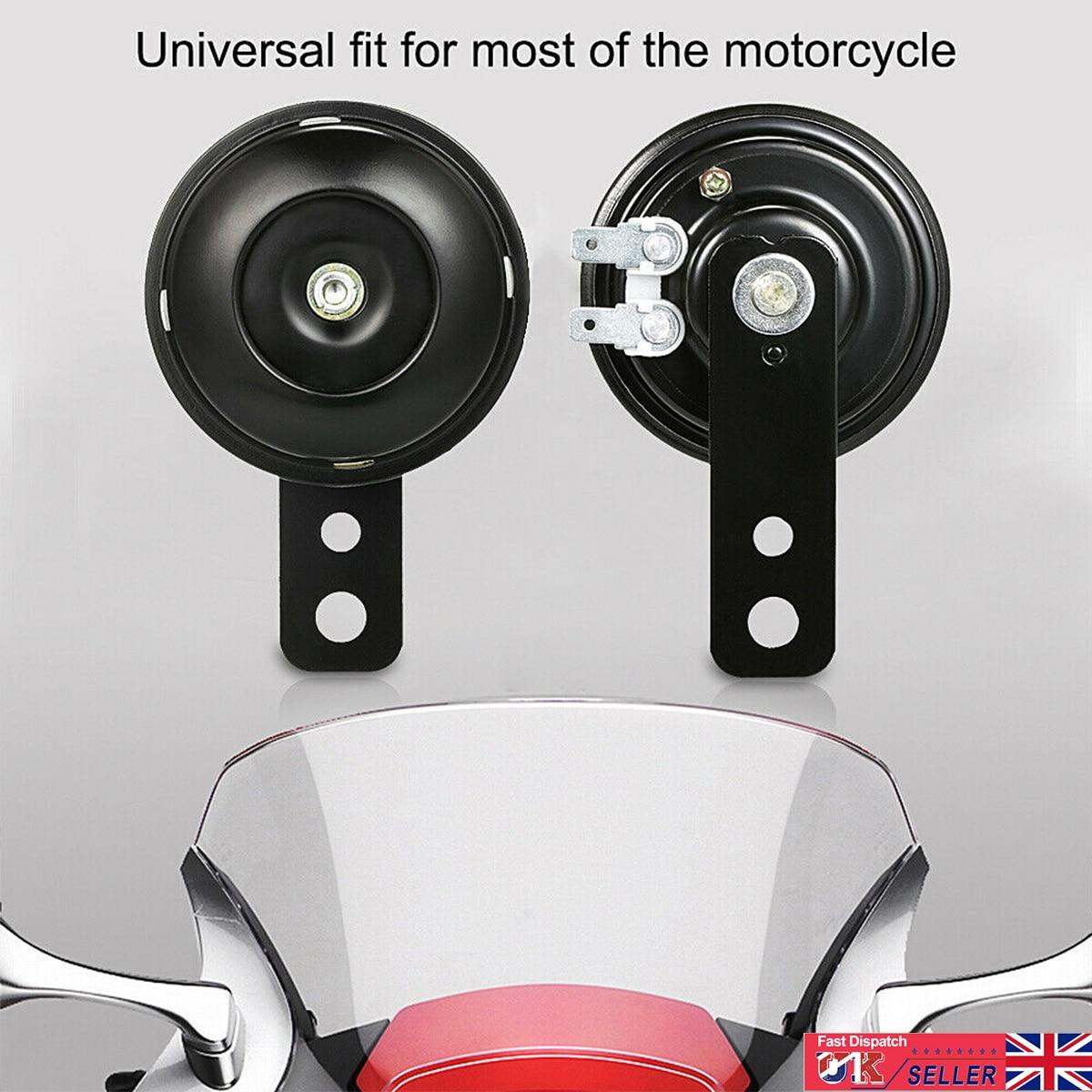 Универсальный клаксон мотоцикла 12 в супер громкий 105 дБ 70 мм A24 для скутера мопеда Dirt Bike ATV Go-Kart Dirt Bike Pocket Bikes