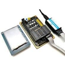 ألترا إعصار IV EP4CE مجموعة لوحة التنمية FPGA مجلس 2.4 بوصة TFT شاشة عالية السرعة USB الناسف + SDRAM وحدة Ata006