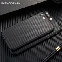 Funda de fibra de carbono para iPhone XS Max X XR 8 7 Plus 5 5S SE 6 6S funda suave de TPU para Iphone On 7 8 XS 11 Pro Max Teléfono de silicona