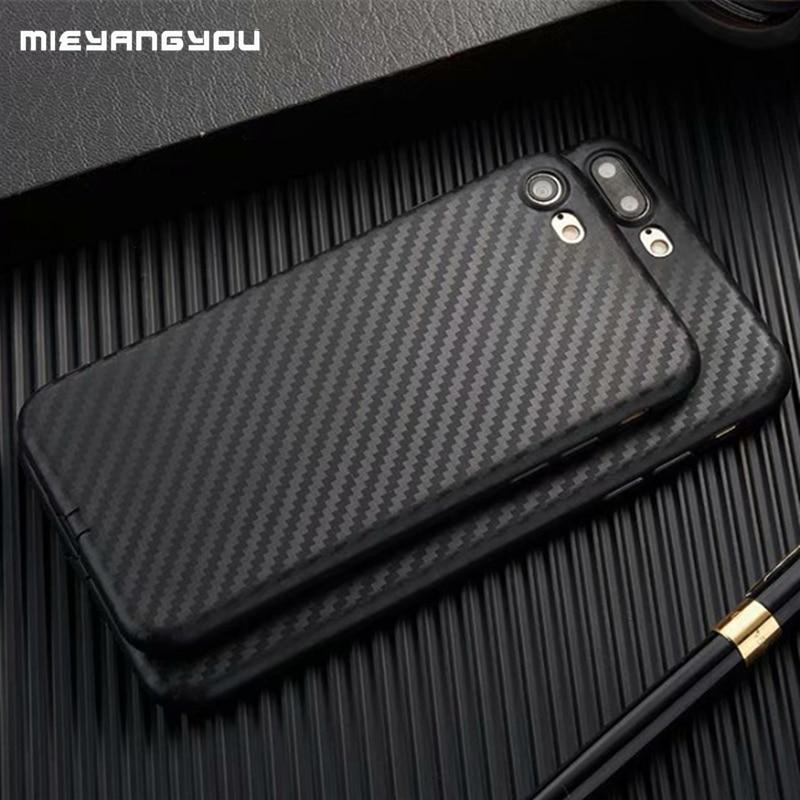 Чехол из углеродного волокна для iPhone XS Max X XR 8 7 Plus 5 5S SE 6 6 S, мягкий чехол из ТПУ для Iphone On 7 8 XS 11 Pro Max, силиконовый телефон