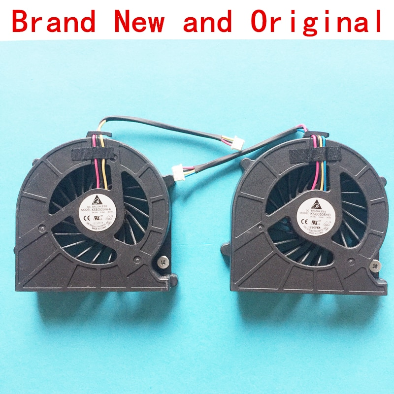 New CPU laptop cooling fan Cooler radiador para Toshiba Satellite KSB0505HA-A-9M1N KSB0505HA-A-9M1N 9M1N DC05V 0.38A