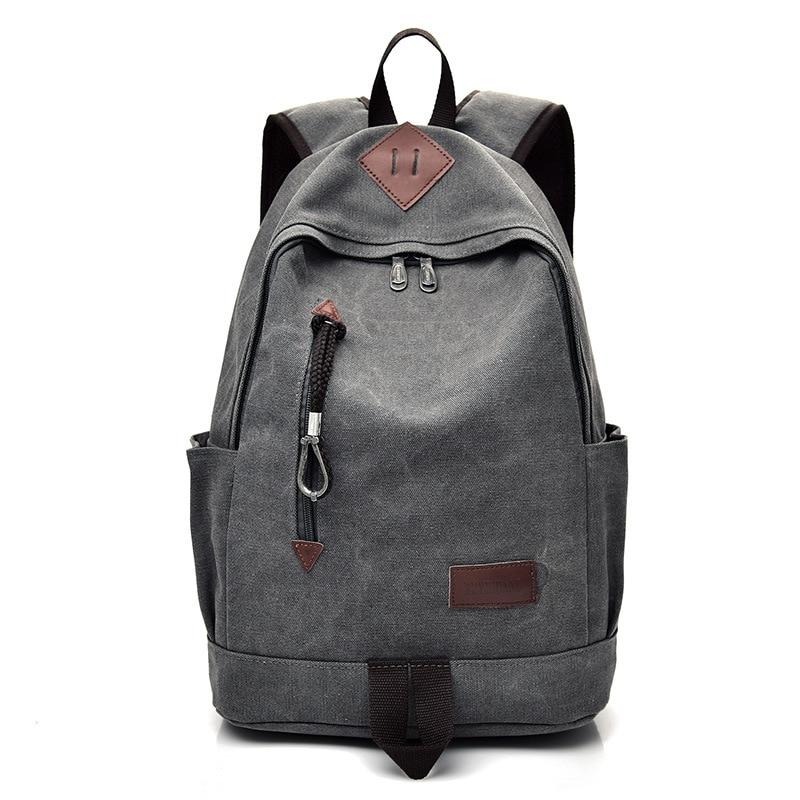 Big Canvas Backpack Man High Quality Large Leisure Multifunction Back Pack Men Bagpack Laptop 2019 New School Bag Backbag Male