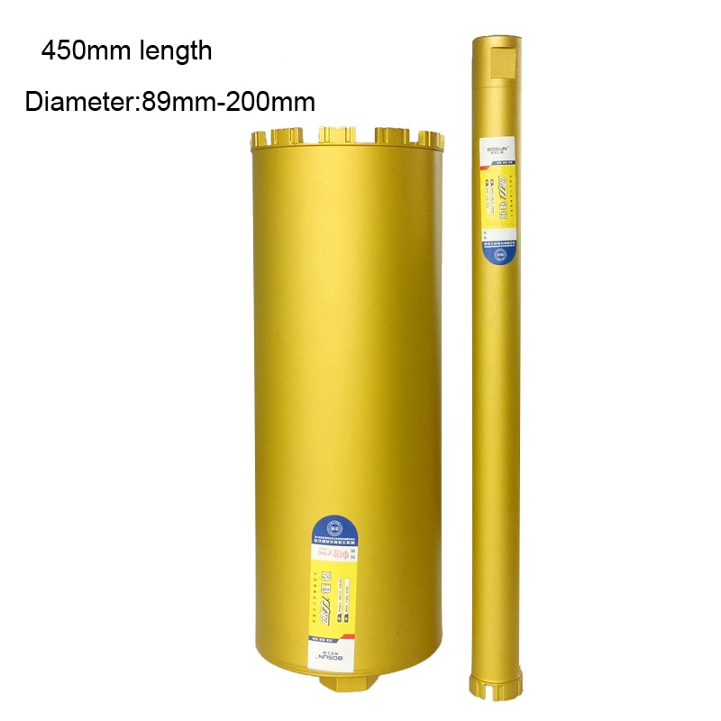 450mm length Wet Diamond Core Drill for Concrete - Premium  Series masonry