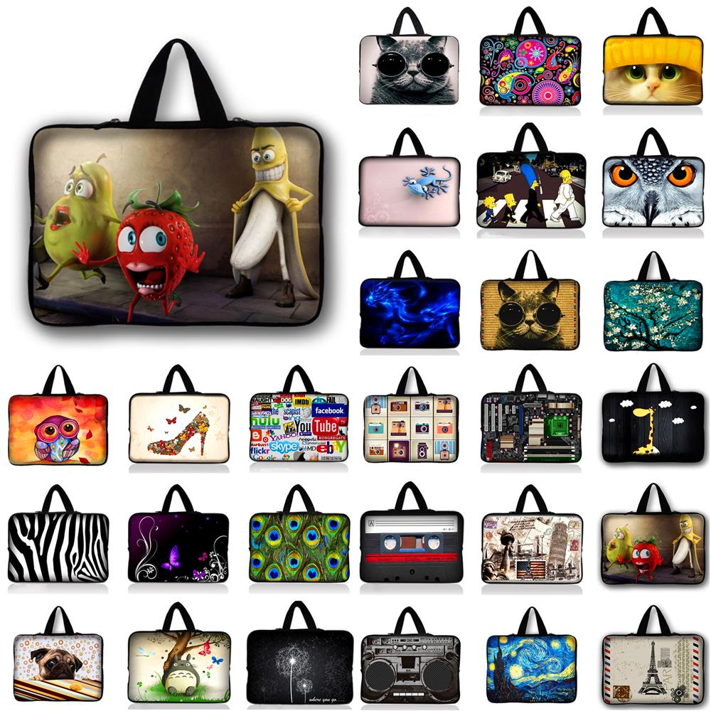 9.7 10.1 11.6 13.3 14.4 15.4 15.6 17.3 17.4 Soft Laptop Sleeve Bag Protective Notebook Computer Cove