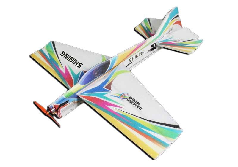 Aeroplano brillante 3D EPP Wingspan 990mm Radio Control RC modelo avión
