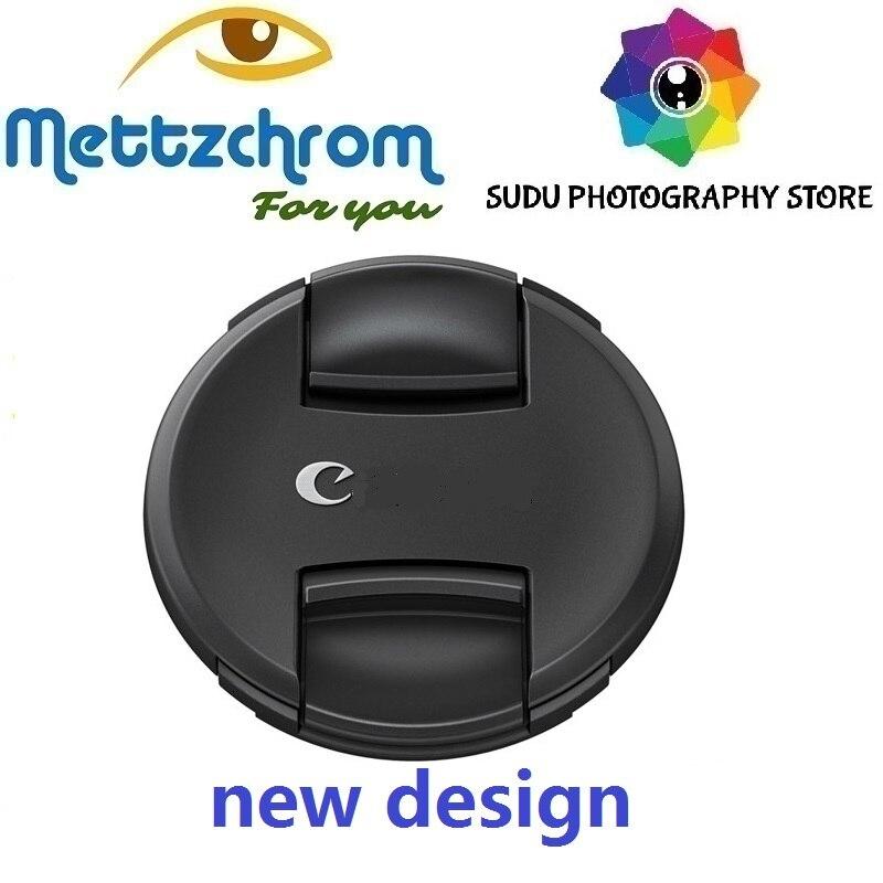 Tampa da lente novo design 49mm 52mm 55mm 58mm 62mm 67mm 72mm 77mm 82mm novo design para canon sony nikon tampa da lente frete grátis