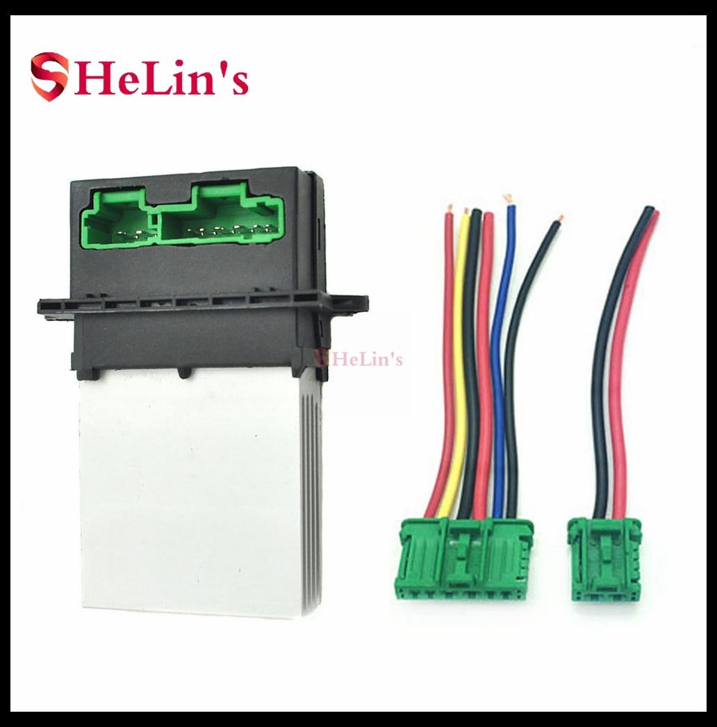 6441L2 27150-ED70A нагреватель воздуходувки резистор или разъем/провод для Nissan Tiida SC11 SC11X C11 C11X C11Z G11Z Livina L10Z L11W
