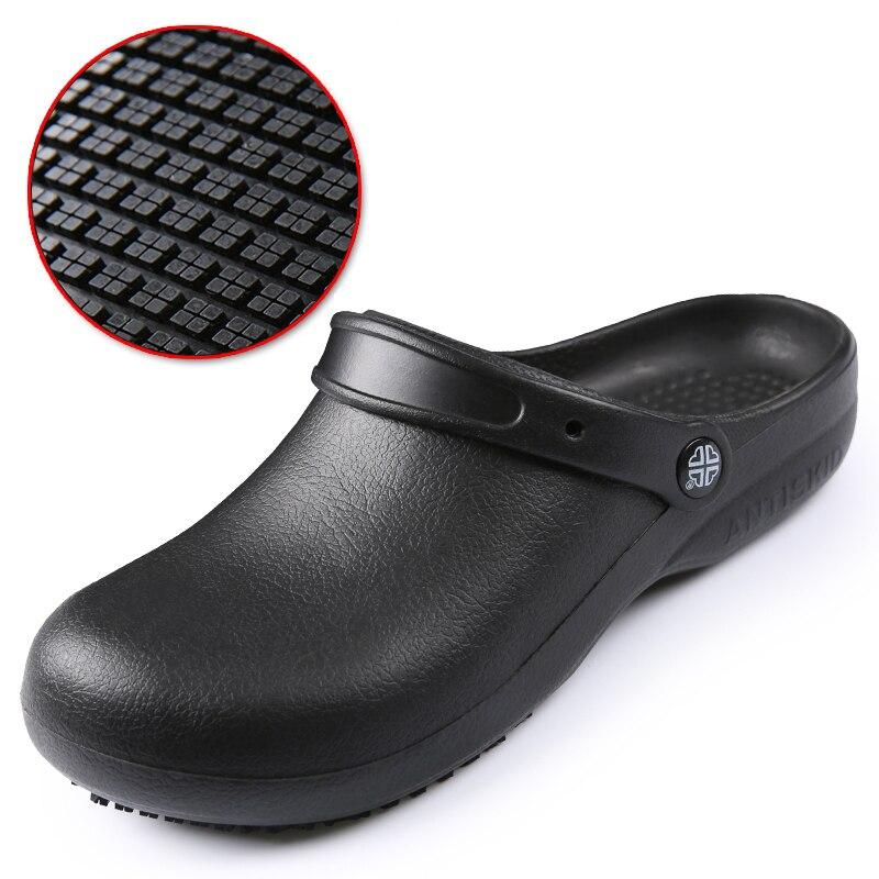 Ботинки для шеф-повара EVA, Нескользящие, водонепроницаемые, маслостойкие, для кухни, рабочие туфли для шеф-повара, мастер-повара, гостиницы, р...
