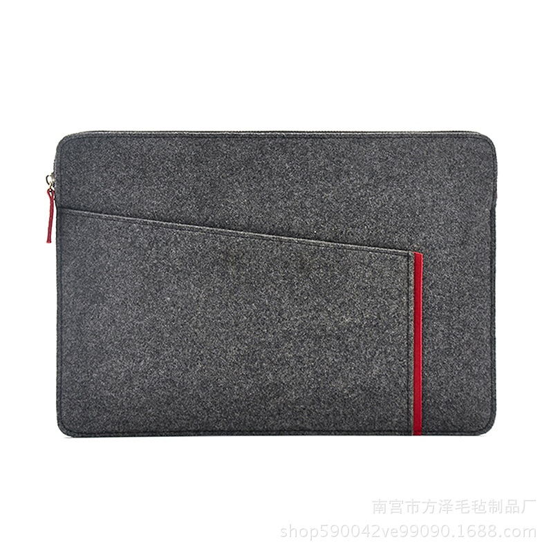 2019 Felt Sleeve Laptop Bag 15.6 Case for Macbook Air 13 Pro Retina 11 12 New 15 Touch Bar for Xiaom