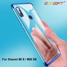 Cadeau de dieu pour Xiaomi Mi 8 étui de luxe Xiaomi Mi 8 Se Silicone couverture souple pour Xiomi Xiaoimi Mi8 SE Mi8SE couverture arrière étuis de téléphone