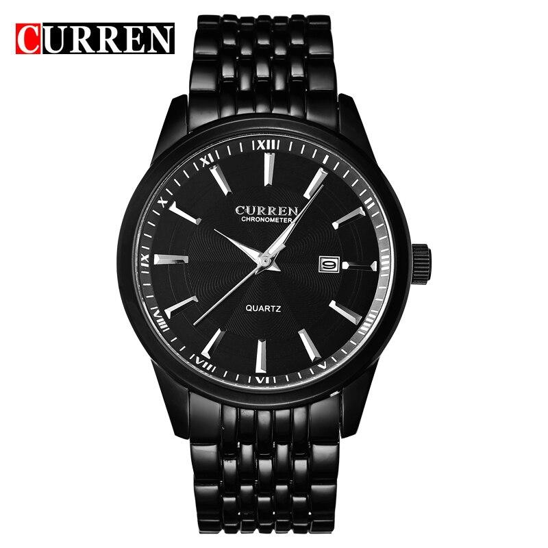 Relogio Masculino CURREN Mens Watches Top Brand Luxury Waterproof Analog Display Date Sport Quartz Watch Military Wristwatches