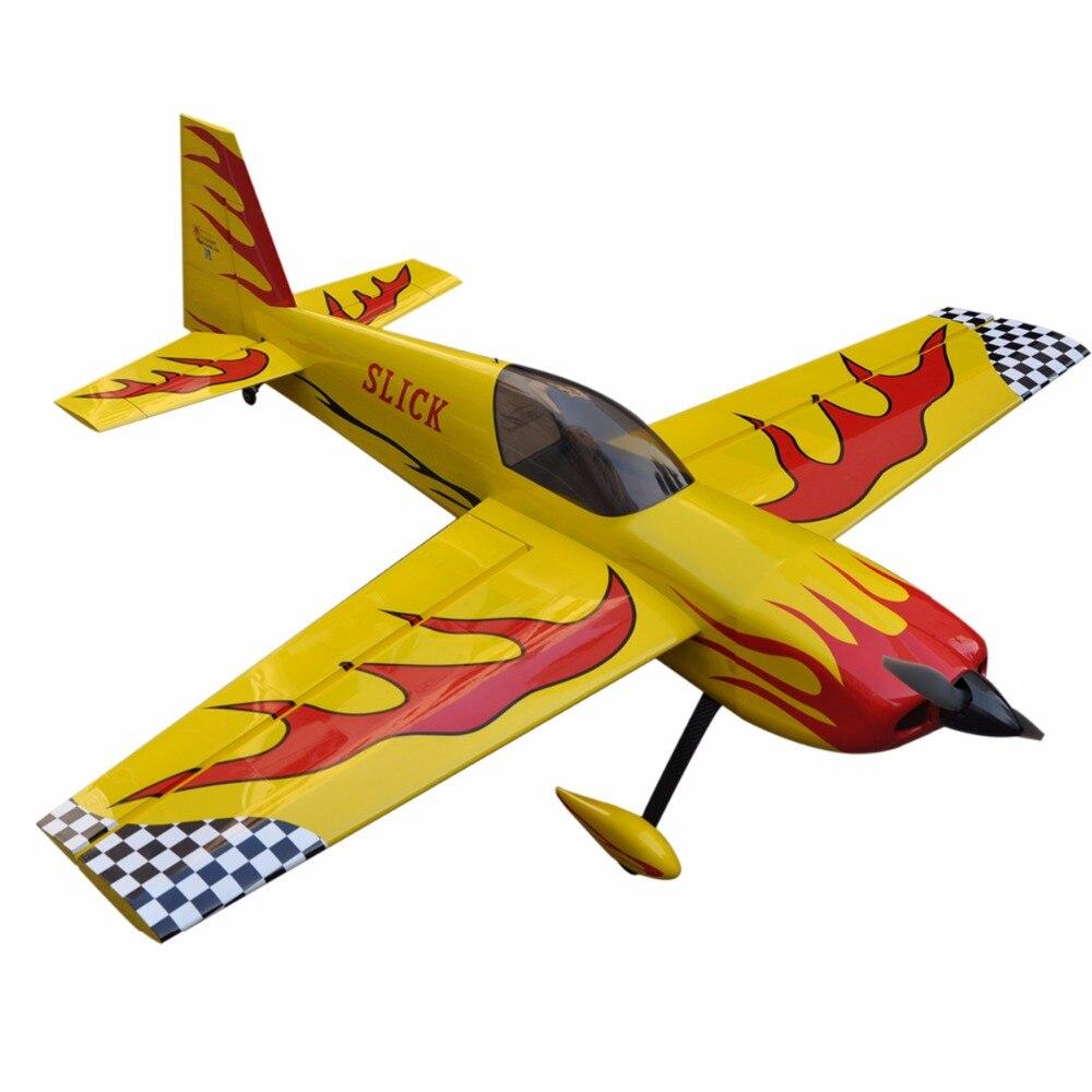 """Avión eléctrico resbaladizo 70 """"4 canales ARF Gran Escala RC aeroplano de madera"""
