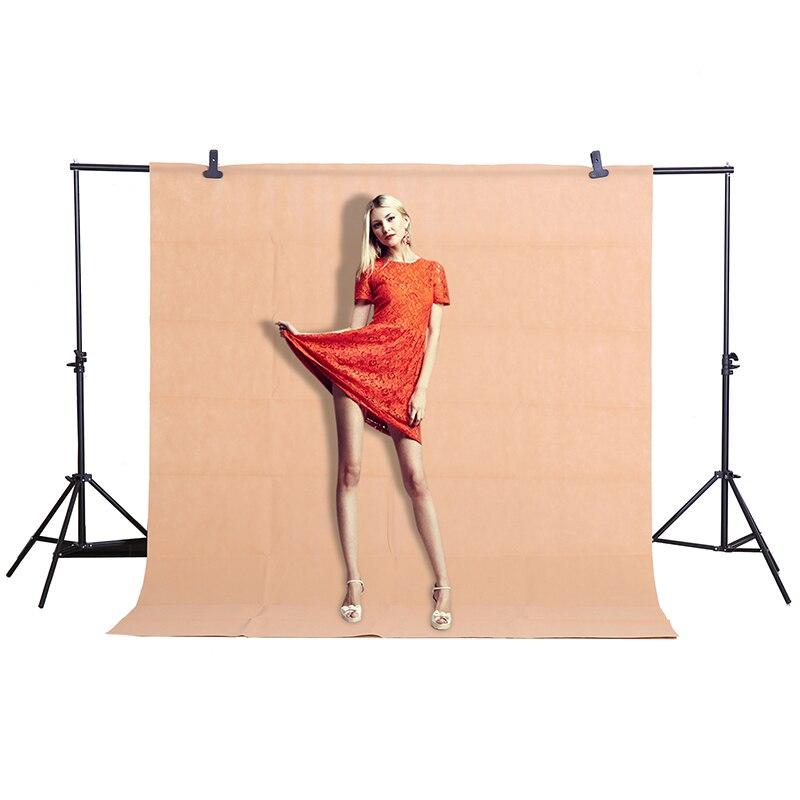 CY Hot Sale 1.6x2 m/5.2 * 6.5ft Cáqui backgrounds foto Fundo do Estúdio de Fotografia de Vídeo de Tecido não tecido backdrops pano de fundo de Tela