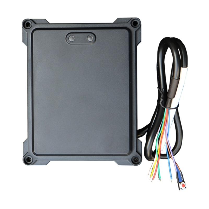 Sensor de radar de control de acceso de coche 12VDC 24Ghz sensor de salida para acceso de barrera de puerta paso libre