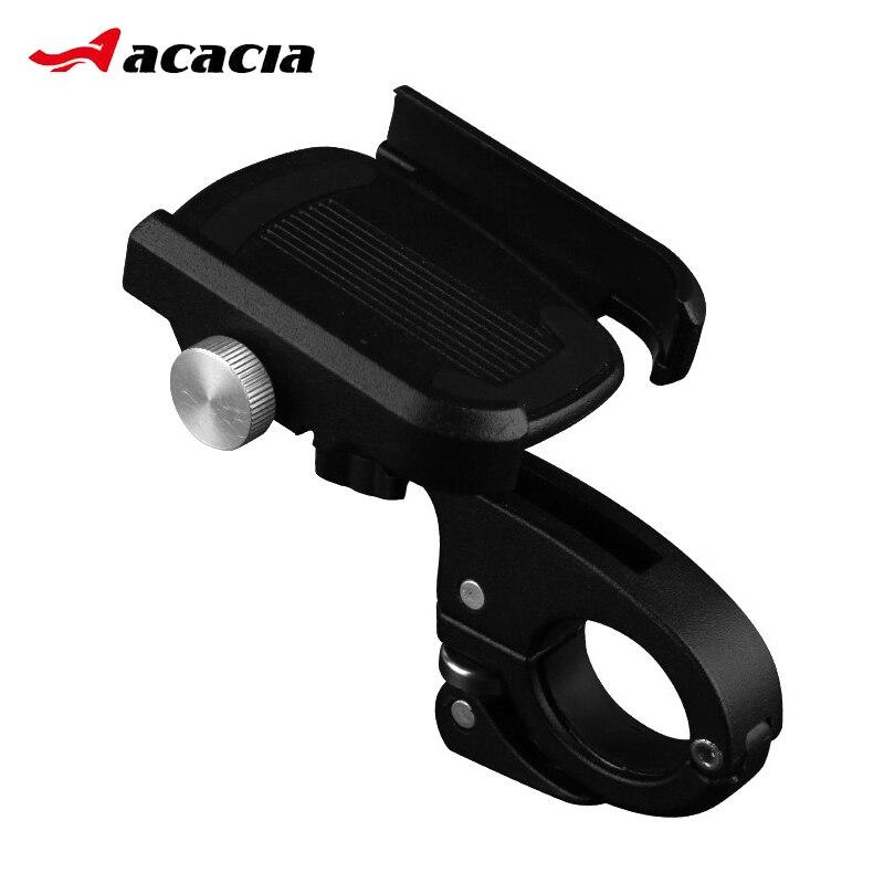 360 grados giran antideslizante bicicleta moto teléfono soporte de montaje de aluminio de aleación de del teléfono de la bicicleta soporte para 4- teléfono de 6 pulgadas