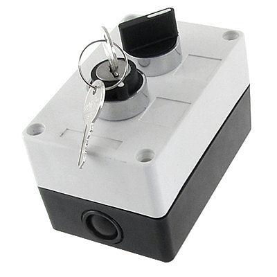 NO se abre normalmente la tecla de bloqueo de 2 posiciones Selector Select Switch Station Box