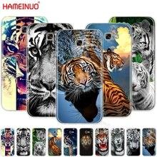 HAMEINUO tiger animal cell phone case cover for Samsung Galaxy A3 A310 A5 A510 A7 A8 A9 2016 2017