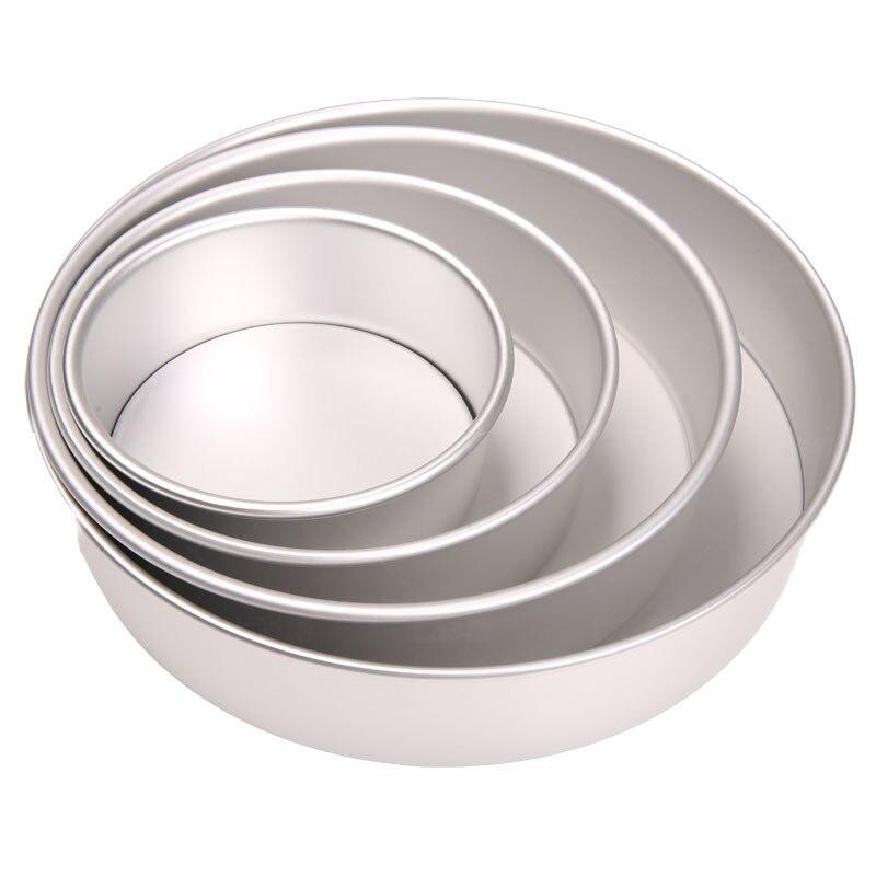 Qualidade de Alumínio Ferramenta de Cozimento de Alumínio Venda Quente Cozimento Polegada 8 10 12 Grosso Redondo Torrada Pão Pan 6