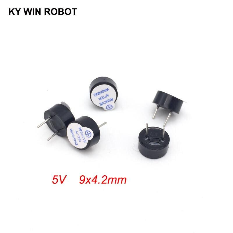 [Kit DIY electrónico] nuevo zumbador activo ultradelgado de 5V electromagnético 9*4,2 MM 0942 (tubo acústico de longitud de plástico SOT) (5 piezas