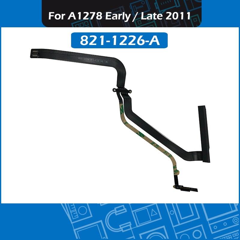 "Novo cabo flexível 821-1226-a do disco rígido a1278 para macbook pro 13 ""cabo 2011 mc700 mc724 md313 md314 de unibody a1278 hdd"