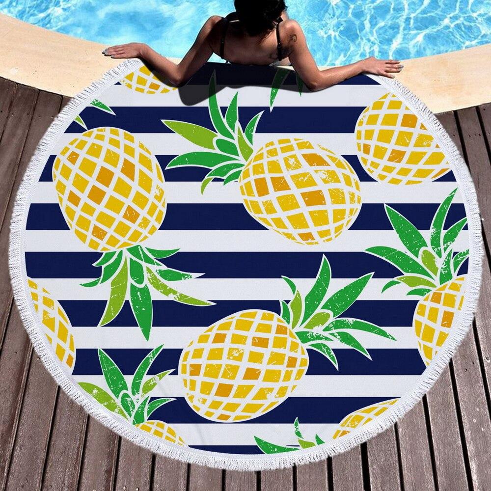 Toalla de microfibra con mochila con cordón bolsa de deporte Yoga manta Toalla de baño para natación flor impresa 150cm x 150cm