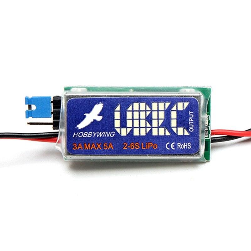5V 3A UBEC soporte 2-6S Lipo batería completamente blindado Anti-interferencia estabilizador de voltaje