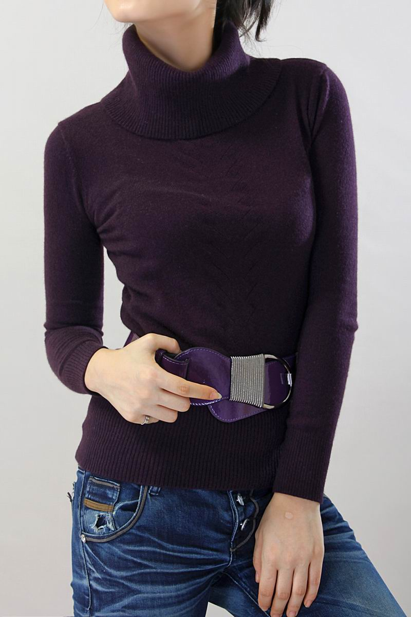 100%Cashmere Sweater Women Purple Brown Pullover Natural Fabric Extra Soft Warm High Quality Clearance Sale Free Shipping enlarge