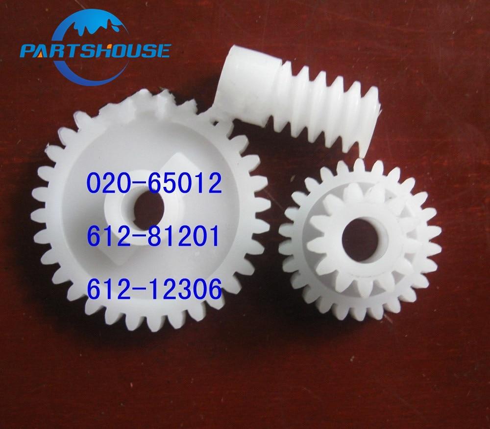 Conjunto 1 020 Gear set 612-81201 612-12306-65012 para Riso CR TR RN RP Duplicador RP1000 1510 1530 1550 1600 1610 210 2000 2030 2080