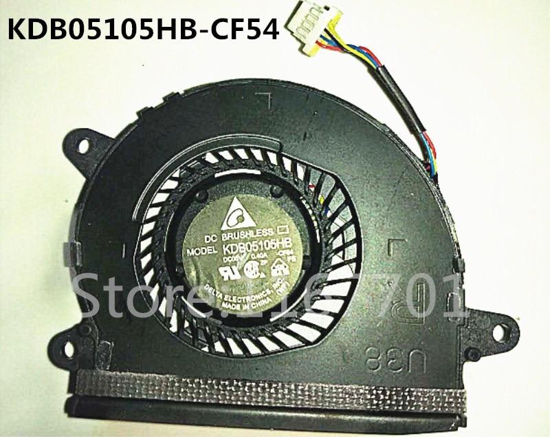 Ventilador de refrigeración Original para ordenador portátil/ordenador portátil para Asus U38 U38D U38N U38DT KDB05105HB-CF54 Lado derecho/R