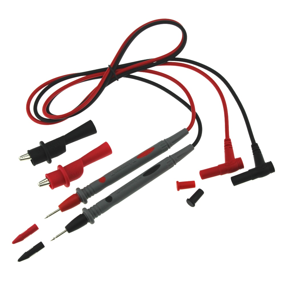 1 пара 10А Амперметр Тестовый Шнур полезный Универсальный мультиметр многометровый вольтметр свинцовый зонд провод ручка кабель witn 1 пара зажим